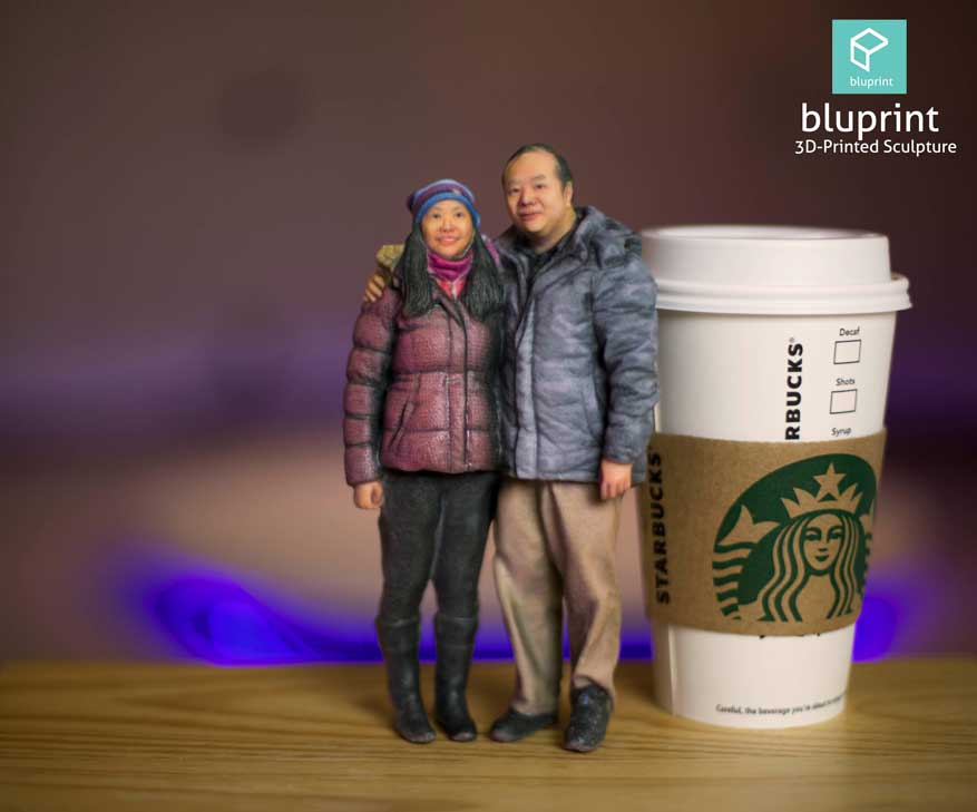 Bluprint-3D-Figure-Couple-Winter-Starbucks
