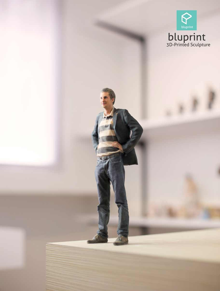 Bluprint 3D Figure Guy With Natural Lighting