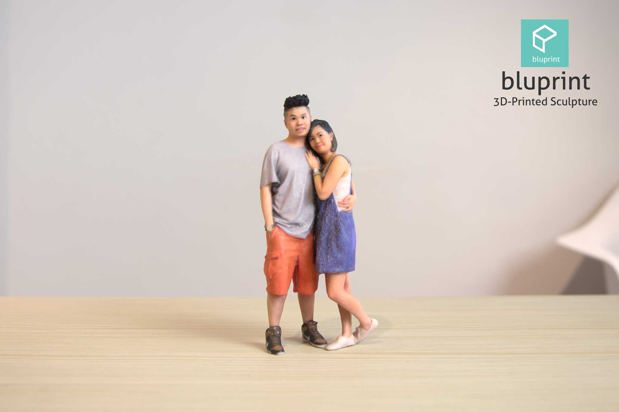 Bluprint 3D Figure Couple