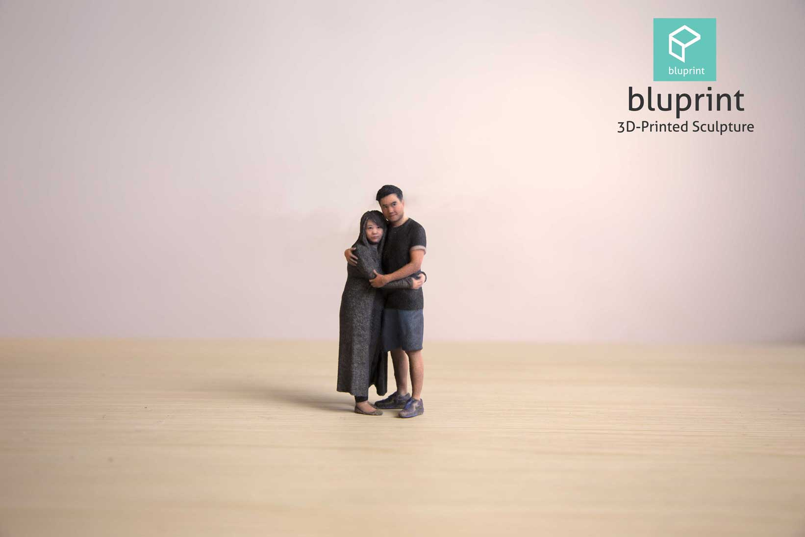 Bluprint 3D Figure Couple Birthday