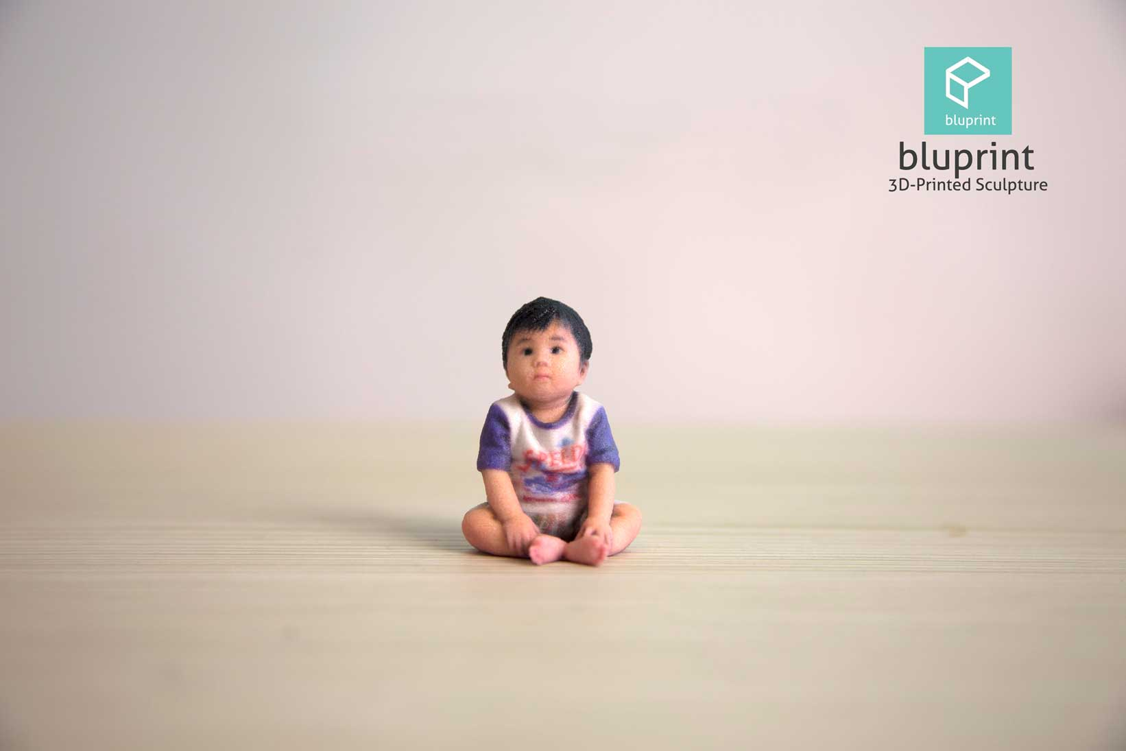 Bluprint 3D Figure Baby Boy Cute