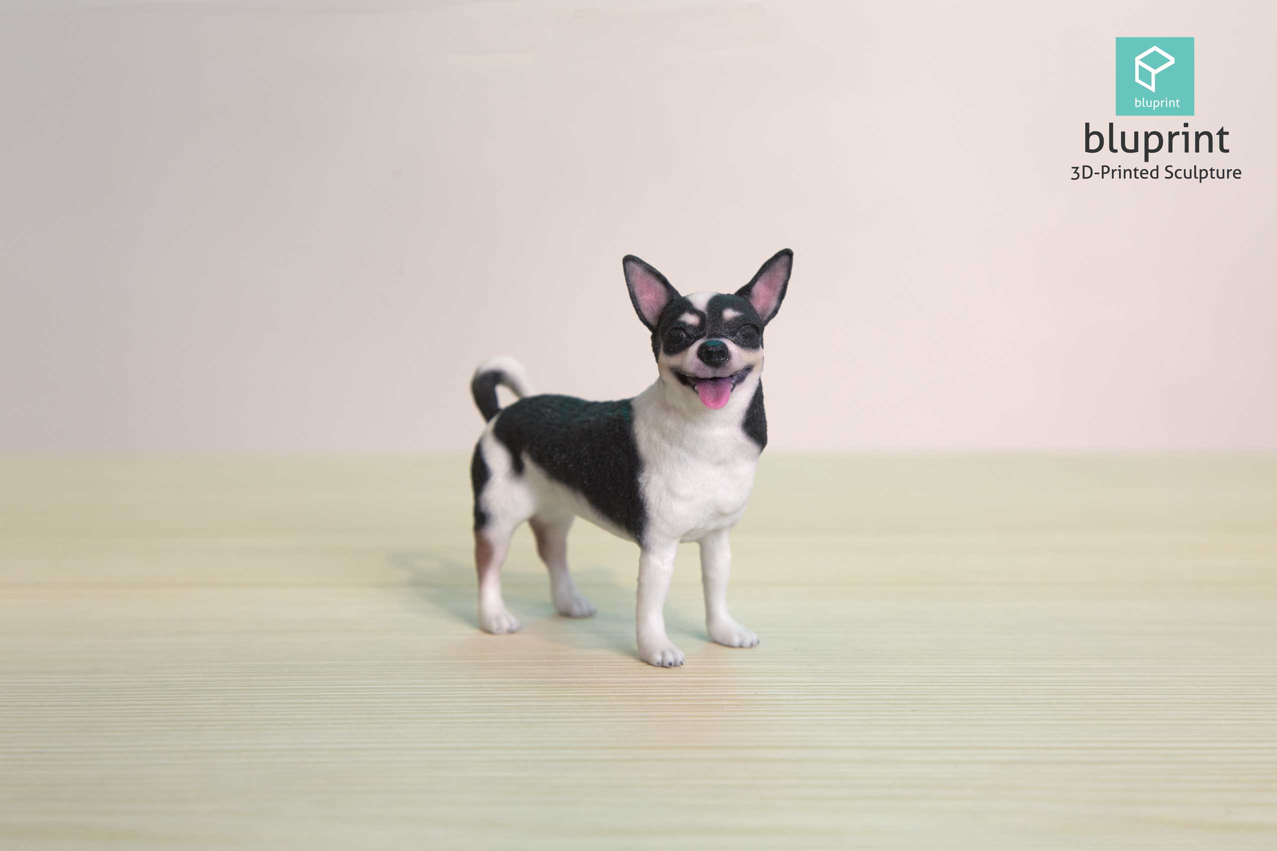 bluprint 3d figure sculpture hong kong dog chihuahua
