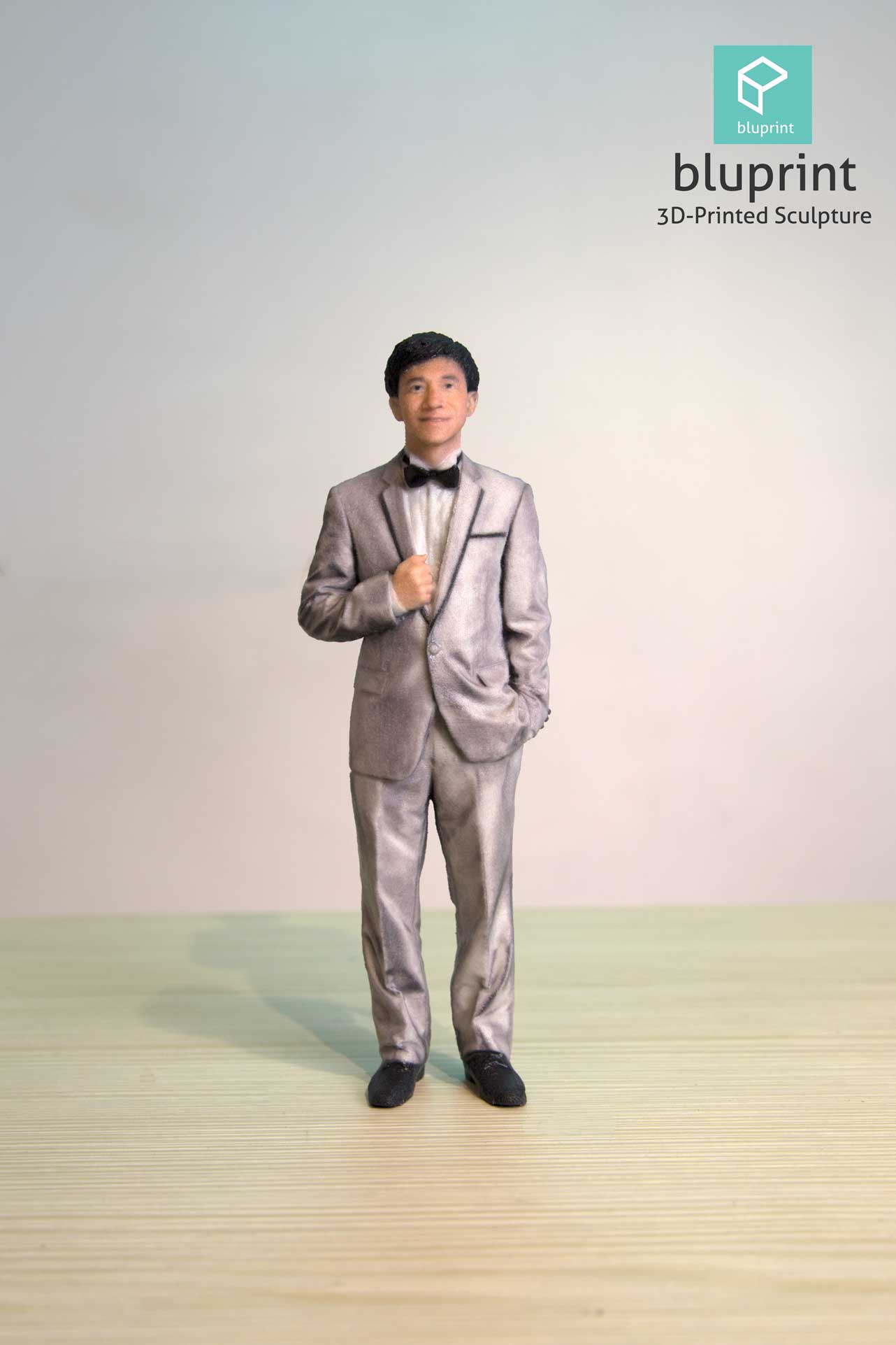 bluprint 3d figure sculpture hong kong wedding groom