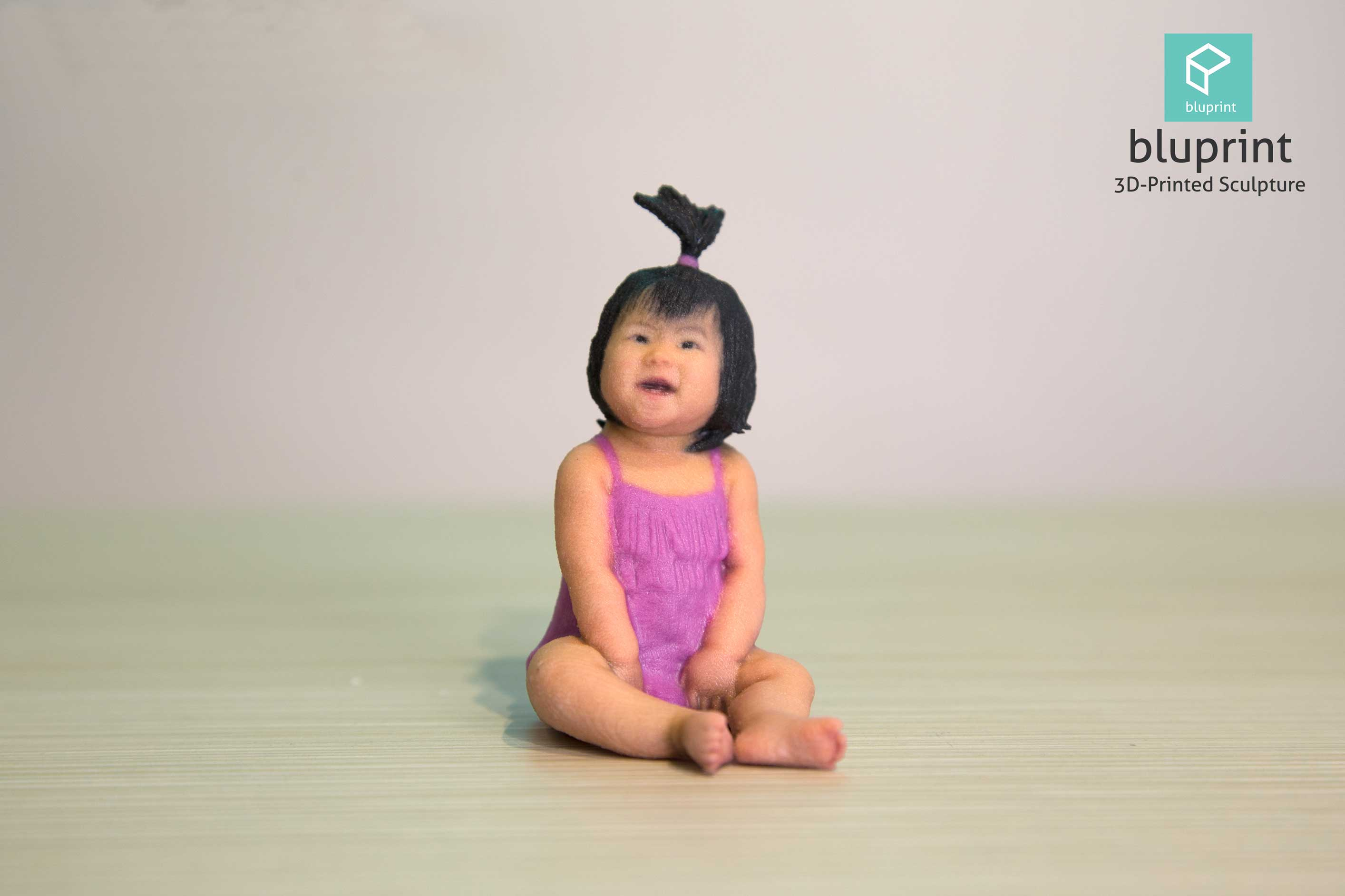 bluprint 3d figure sculpture hong kong baby girl swimsuit